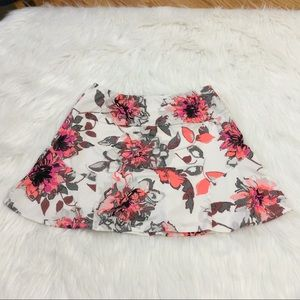 Chrissie By Tail Tennis Floral Skorts Sz Small
